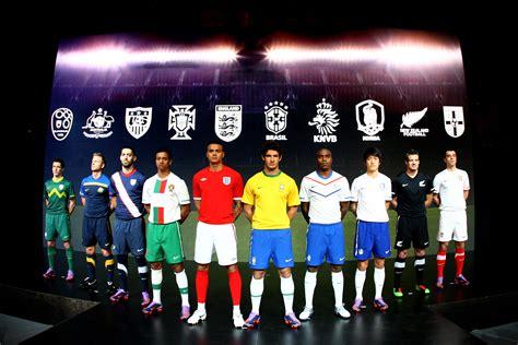 worlds best football team nike introduces 2010 national team kits nike news