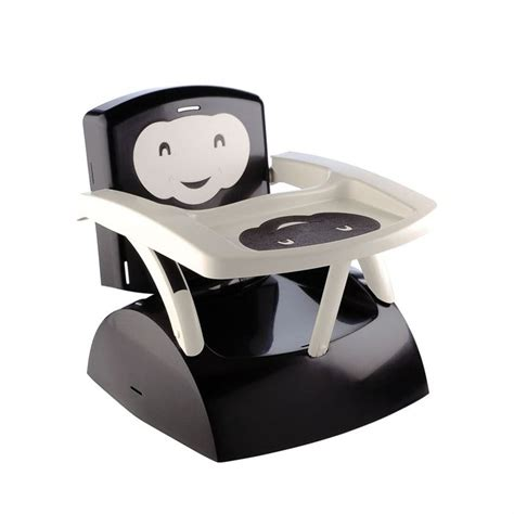 rehausseur de table bebe thermobaby r 233 hausseur de chaise babytop noir noir et