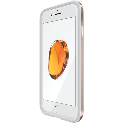 tech evo elite case  iphone  clear polished rose
