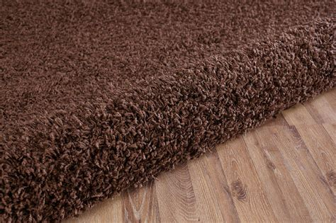 large soft rug brown shaggy soft modern carpet large thick 5cm contemporary area rug fluffy ebay