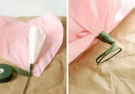 tissue paper flower wall tutorial 10 best images about tissue paper flowers on pinterest
