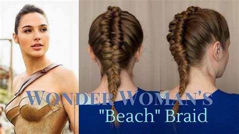 cute superherpes hair styles superhero style wonder woman s quot beach quot braid youtube
