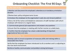 Elements Of A Comprehensive Onboarding Program 13 Nicole Dessain Talentimperative Com Objective Intern Onboarding Template