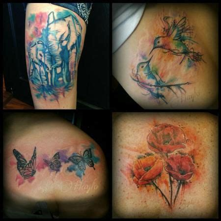 watercolor tattoos utah 17 best images about s for arm on trees