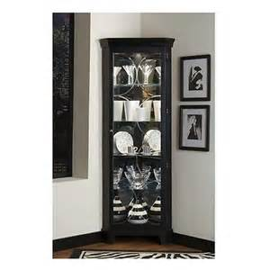 Black Curio Cabinet With Light New Black Corner Curio Cabinet Display Glass