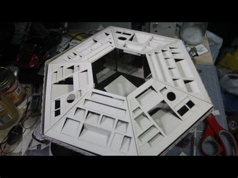 how to build a tardis console room building a doctor who tardis console from scratch d i y part 1 mpg