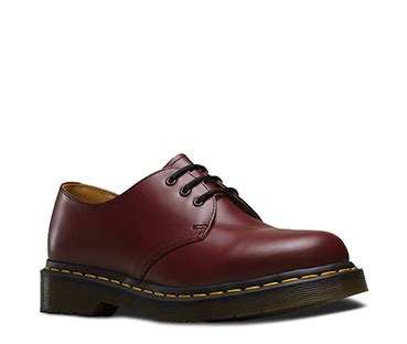 Docmart Low Brown 1461 3 eye shoes official dr martens store