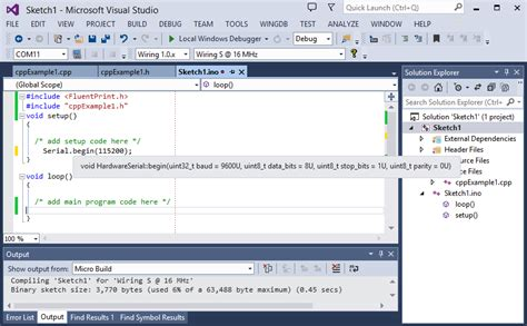wiring ide the wiring ide for visual studio and atmel studio