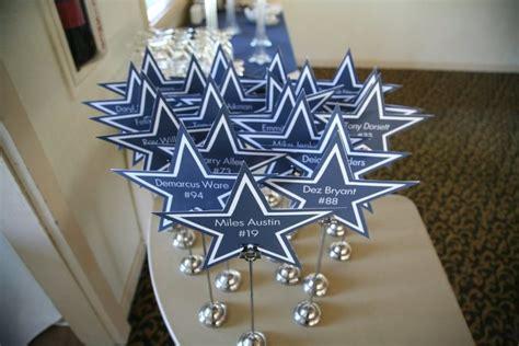 Dallas Cowboys Decoration Ideas by Dallas Cowboys Wedding Centerpieces Sports