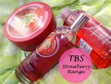 Strawberry Mist The Shop the shop strawberry range reviews butter