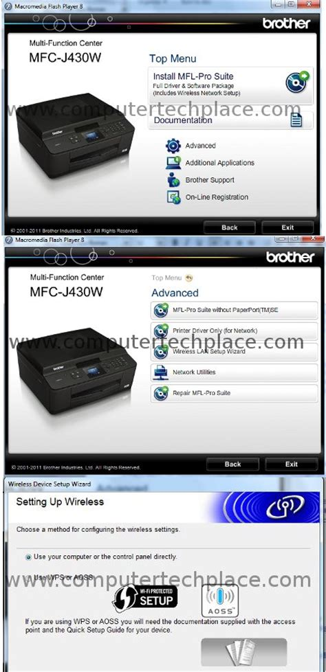 how to print from android phone to wireless printer print from printer mfc j430w wireless wi fi with android phone computertechplace