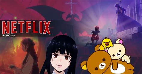 Anime On Netflix by 2018 Anime On Netflix All About Lost Song Rilakkuma And