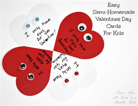 easy valentines 3 easy semi valentines day cards seven alive