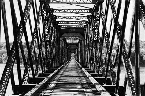 Industrial Arts by Items Similar To Industrial Photography Iron Railroad Bridge Perspective Wall Decor