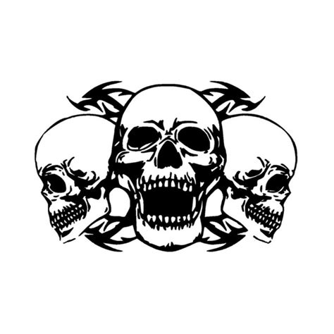 Stiker Vinil 7 X 8 Cm Desain Custom Stiker Custom 34 7 22 8cm personalized custom skull car stickers