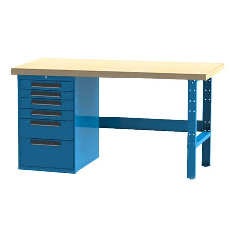industrial work benches industrial workbench 6 drawer cabinet