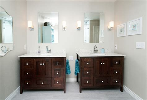 modern inset style bath vanities traditional bathroom