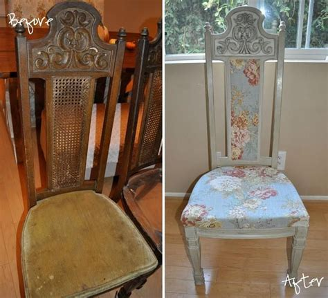 Diy Dining Chair Slipcovers Diy Dining Chair Redone Diy Chair Slipcovers Diy Home Diy Furniture For The Chairs We Ve