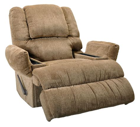 recliner chairs with fridge franklin franklin recliners clayton rocker recliner with
