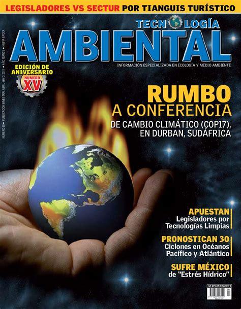 revista tecnologia ambiental    tecnologia