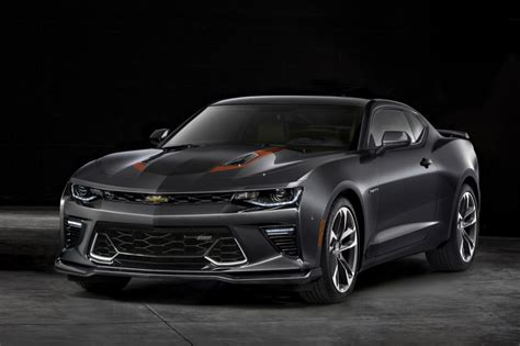 camaro  anniversary edition info pictures