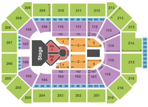 allstate arena seating pictures allstate arena tickets in rosemont illinois allstate