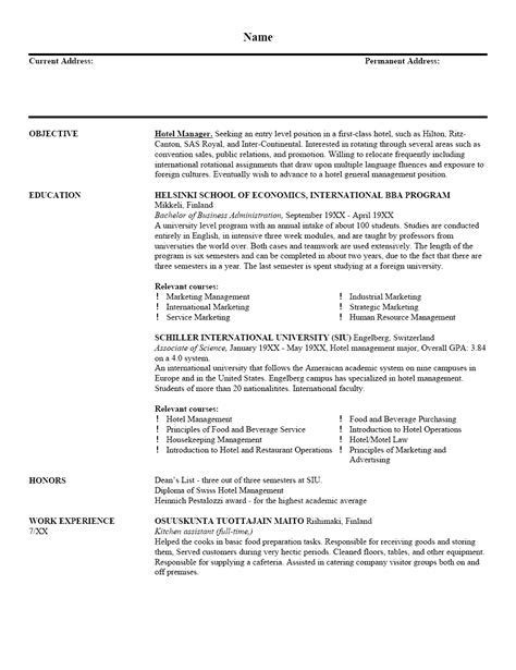 template of resume resume sle 001r6 yourmomhatesthis