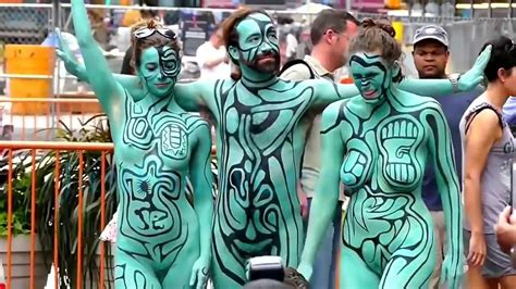 brazil painting festival nyc painting festival 2016 annual bodypainting grand