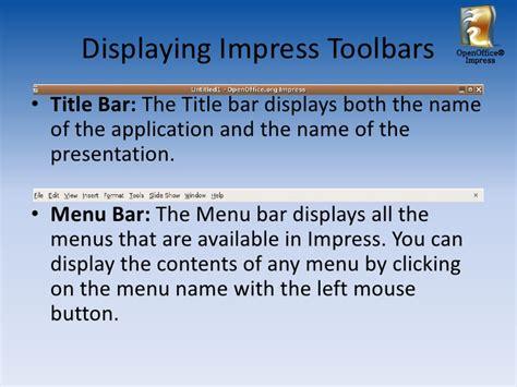tutorial powerpoint open office open office impress tutorial