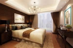 background bedroom european style brown background wall bedroom