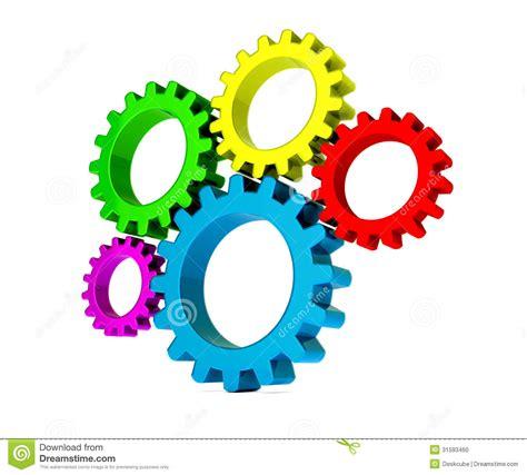 imagenes en movimiento de engranajes engranajes coloridos 3d foto de archivo imagen 31593460