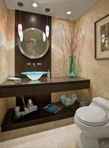 ideas for impressive powder room bathroom decorating