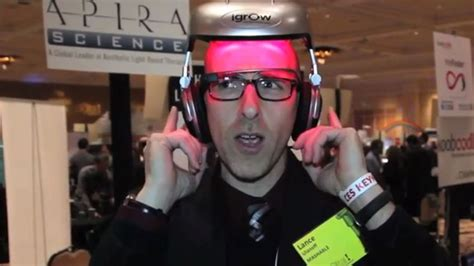 hair growth laser helmet igrow this wearable gadget zaps you to stand taller