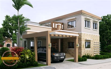 Bright Neat 2bdrm House No Ronaldo Simple 2 Storey Cool House Plan House