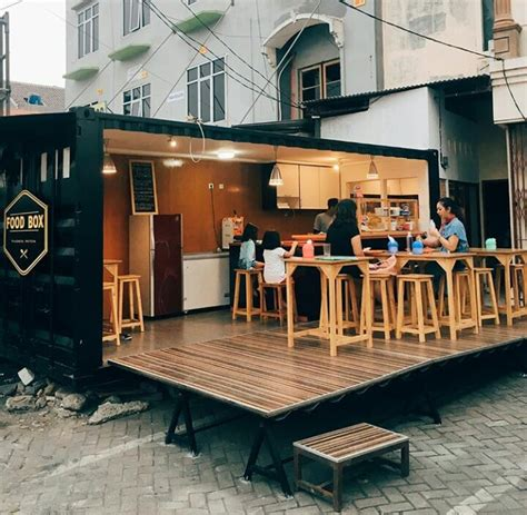 desain cafe container jual container cafe modifikasi jual container cafe