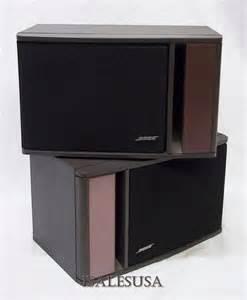 bose 141 pair fullrange bookshelf speakers