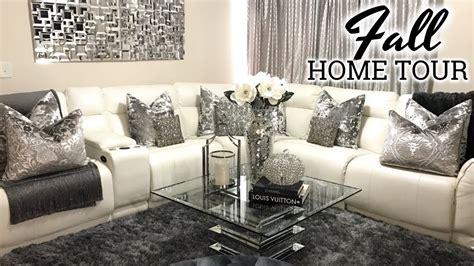 Home Decor Living Room Glam Fall Home Tour 2017 Living Room Tour Dining Room Decor