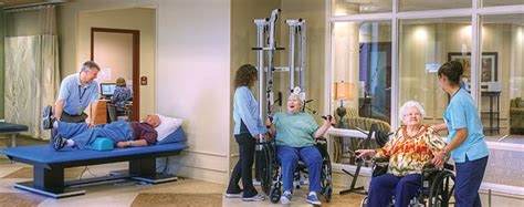skilled nursing rehabilitation services at marywood