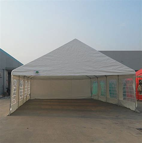 Car Port Tents by Shade Tree 20 X 30 Heavy Duty Event Wedding Tent Canopy Carport W S Tents