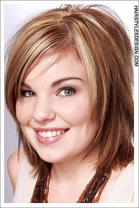 hairstyles for round face overweight women round fat face hairstyles hair ideas pinterest