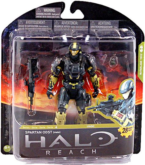 halo toys for sale mcfarlane halo reach series 4 spartan odst figure