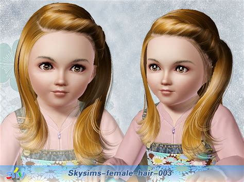 skysims hair child 188 sims 3 pinterest my sims 3 blog skysims hair 003