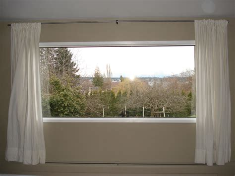 their house had a large picture window in the livingroom