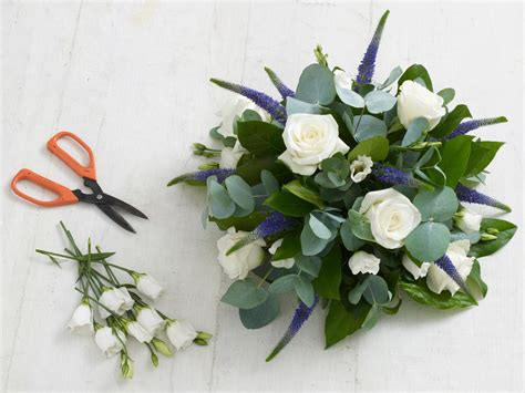 floral arranging how to make a floral foam arrangement hgtv