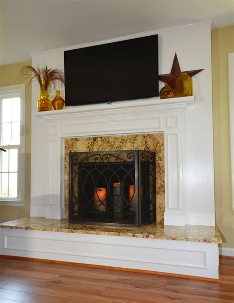 Fireplace Resurface by 1000 Images About Fireplace Ideas On