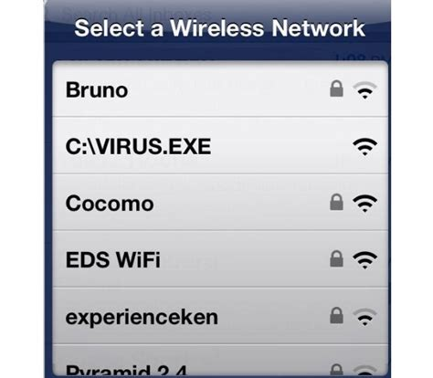 clever names 15 clever wifi names free virus wifi haha names and wifi names