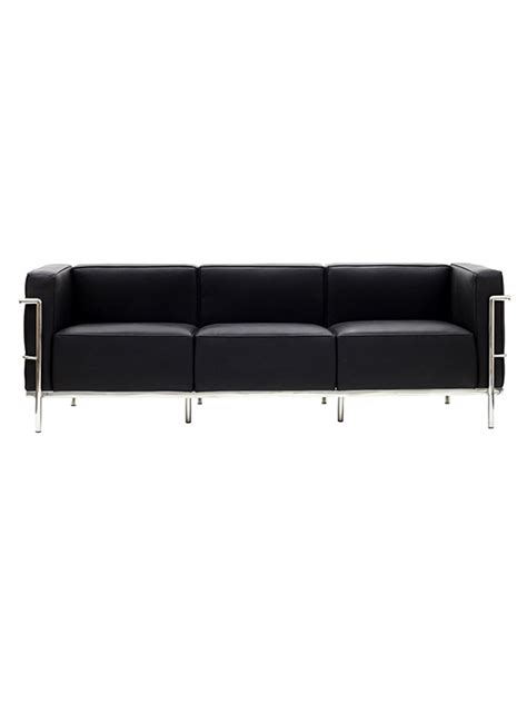 simple leather sofa simple large leather sofa modern furniture brickell