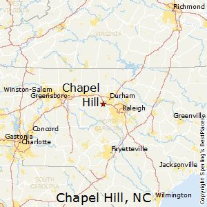 map of carolina chapel hill best places to live in chapel hill carolina