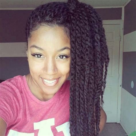 two strand twists vs senegalease braids side hanging two strand twists hair tutorials pinterest