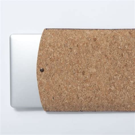 Cork Laptop Sleeve Wave cork laptop sleeve by frank eco gifts